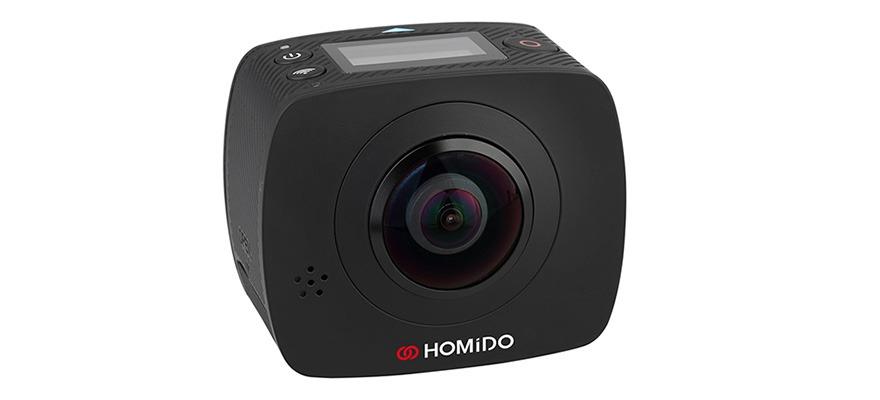 homido gioi thieu kinh thuc te ao homido v2 va he sinh thai vr: camera 360 do