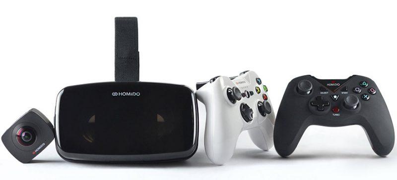 Homido giới thiệu kính thực tế ảo Homido V2 và hệ sinh thái VR