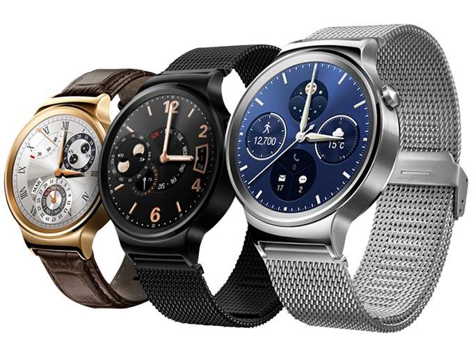 Huawei Watch dùng màn hình độ phân giải 400 x 400, cao nhất trong mảng Android Wear
