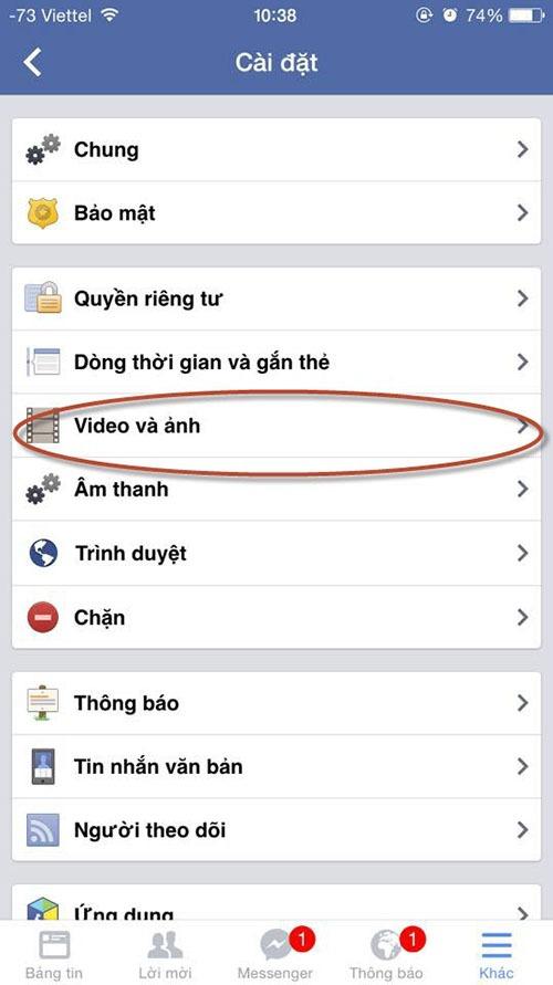 huong dan cach tat che do tu phat video tren facebook 05