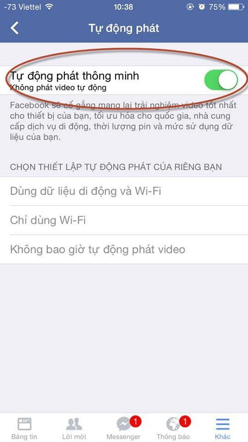 huong dan cach tat che do tu phat video tren facebook 07