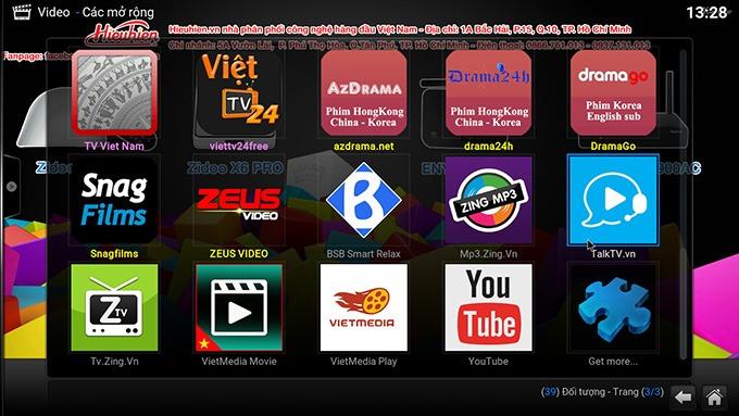 huong dan cach xem stream dota2 tren android tivi box: xem dota2 tren kodi hieuhien