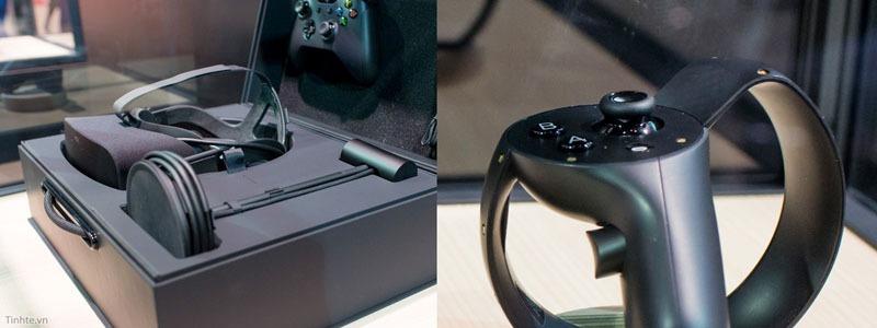 Kính thực tế ảo Oculus Rift bản chính thức và tay cầm Oculus Touch
