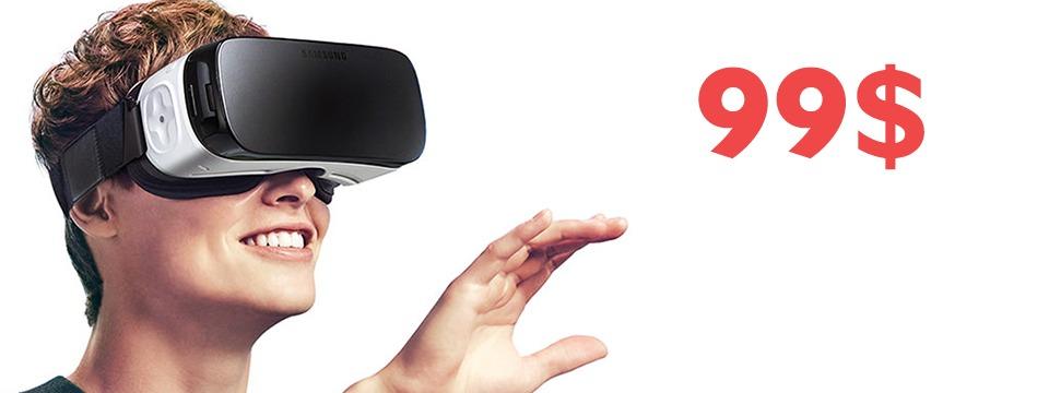 Kính thực tế ảo Samsung Gear VR 99$ đã chính thức bán ra ở Mỹ