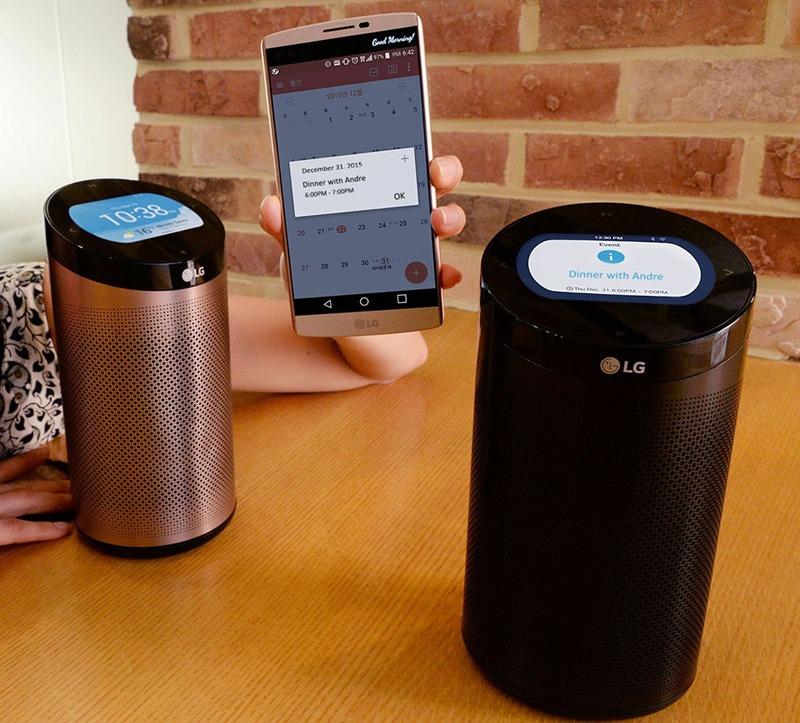 LG giới thiệu SmartThinQ Hub tại CES 2016