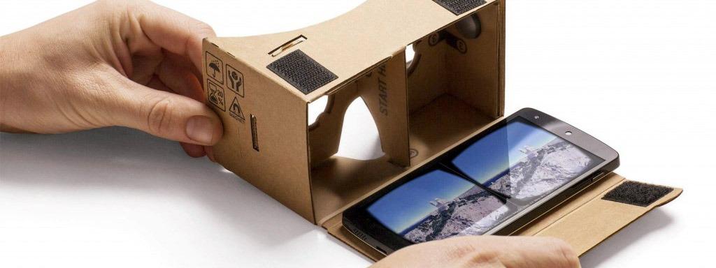 New York Times tặng kính thực tế ảo Google Cardboard cho người đọc