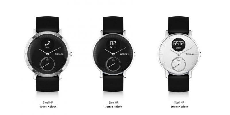Nokia giới thiệu smartwatch thời trang Withings Steel HR, pin 45 ngày