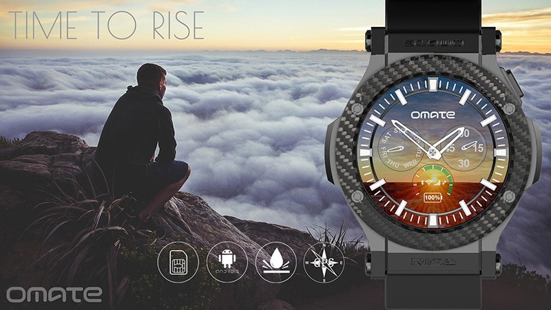 smartwatch omate rise chay android 5.1 lollipop, co 3g, ket noi android va iphone 07