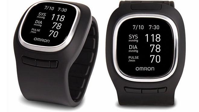 Omron Project Zero là thiết bị đeo theo dõi sức khỏe với khả năng đo huyết áp.
