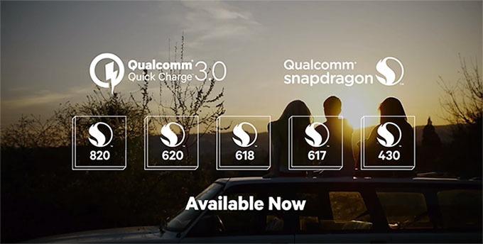Qualcomm giới thiệu công nghệ sạc nhanh Quick Charge 3.0