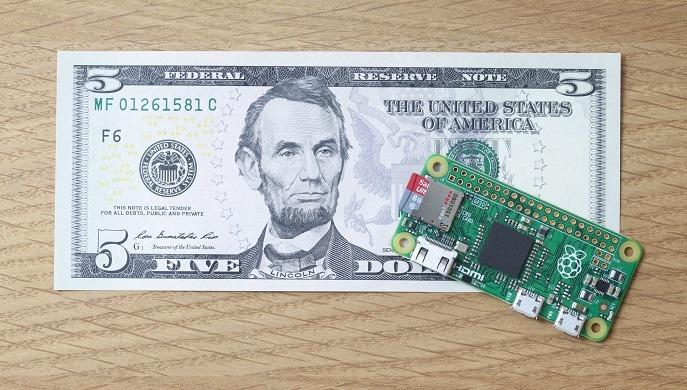 Raspberry Pi Zero: chiếc máy tính nhỏ hơn tờ tiền, giá chỉ 100.000đ