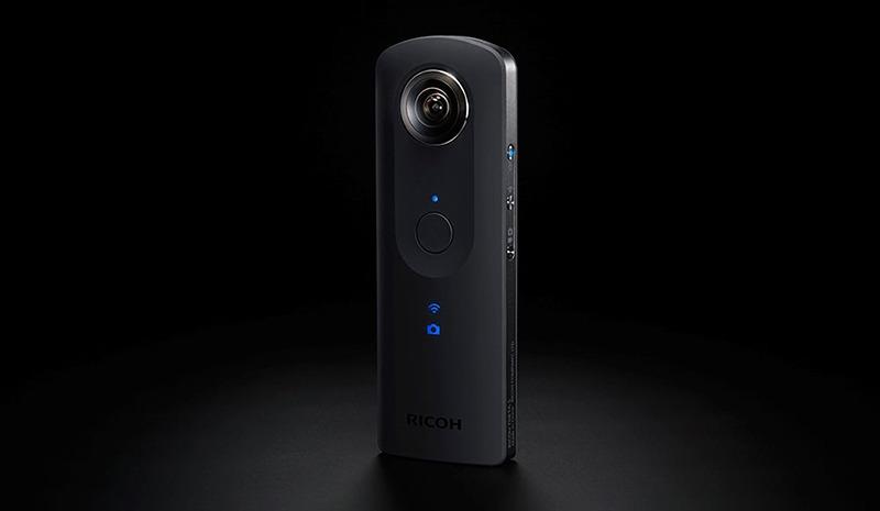 Ricoh chính thức ra mắt camera 360 độ Theta S