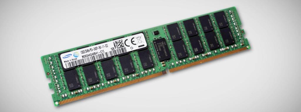 Samsung bắt đầu sản xuất các thanh RAM 128GB DDR4 đầu tiên