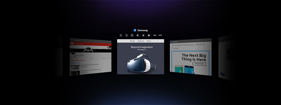 Samsung Internet: Trình duyệt cho kính thực tế ảo Gear VR