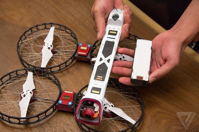 snap drone: an toan, de thao lap, quay 4k 12