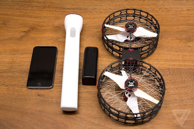snap drone: an toan, de thao lap, quay 4k 14