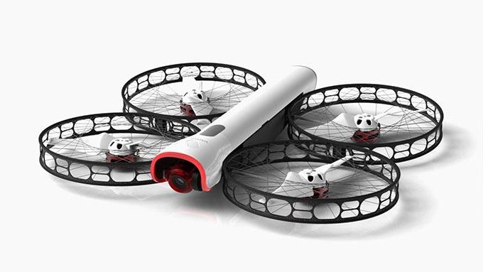 Snap Drone: An toàn, dễ tháo lắp, quay 4K