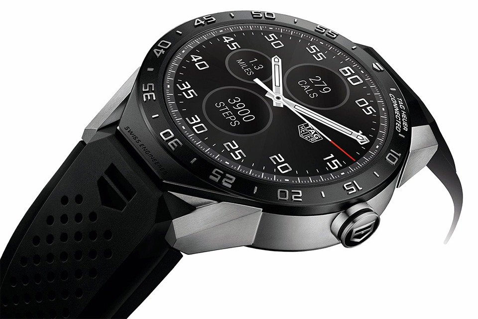 tag heuer ra mat connected watch: smartwatch chay android wear 02
