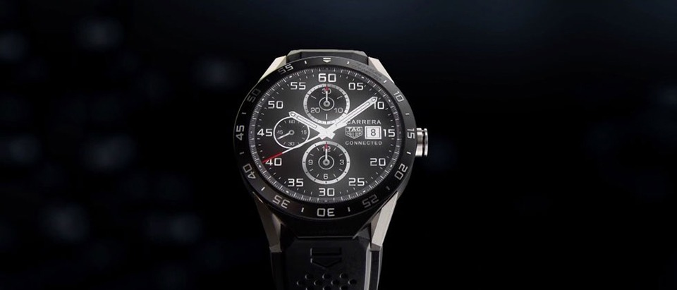 tag heuer ra mat connected watch: smartwatch chay android wear 03