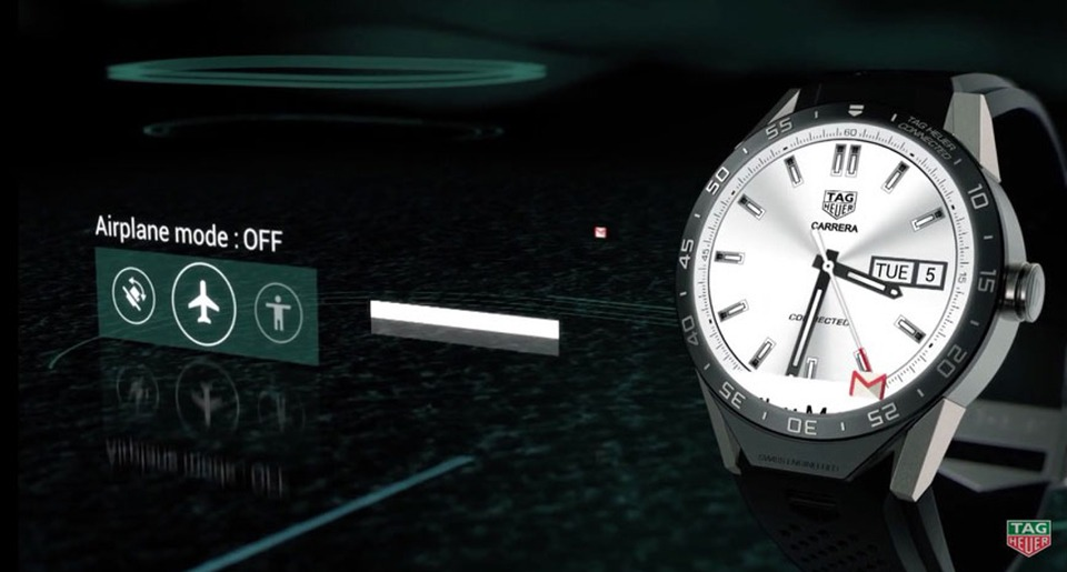 tag heuer ra mat connected watch: smartwatch chay android wear 04