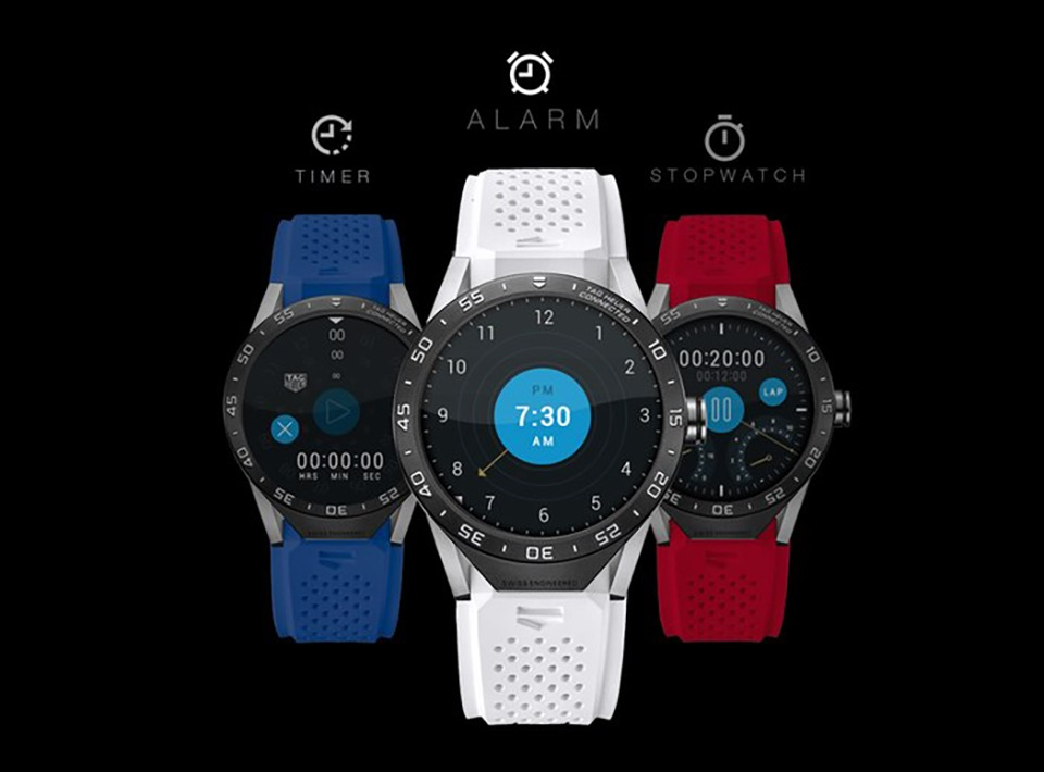 tag heuer ra mat connected watch: smartwatch chay android wear 06