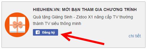 android tv box zidoo x1 dang ky nhan qua giang sinh
