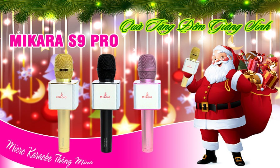 Tặng bạn đọc bộ sản phẩm Micro Karaoke Bluetooth - Mikara S9 Pro trị giá 1.390.000đ