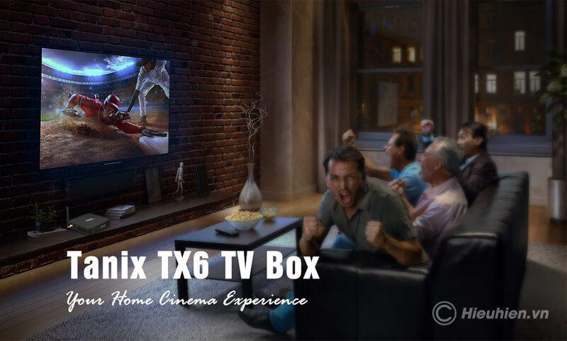 tanix tx6 4gb/32gb android 9.0, tv box allwinner h6 - hình 02