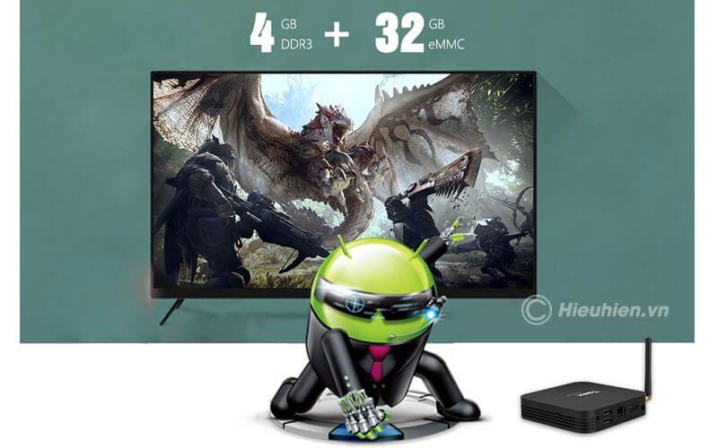 tanix tx6 4gb/32gb android 9.0, tv box allwinner h6 - hình 06