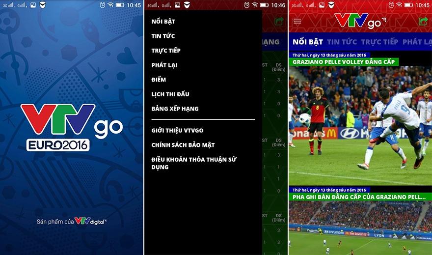 vtvgo euro 2016: ung dung xem truc tiep euro 2016 tren smartphone - anh 2
