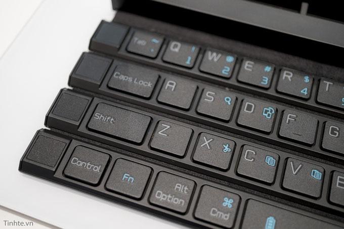 tren tay lg rolly keyboard ban phim di dong cuon lai duoc 09