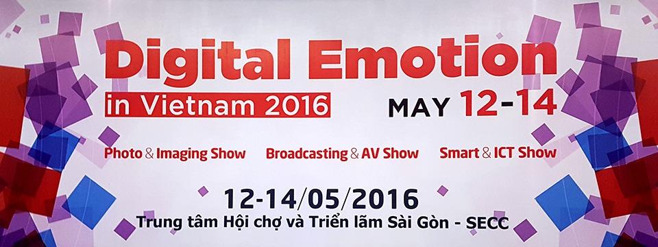 Triển lãm hình ảnh và nghe nhìn VIPI & VIBA 2016 (Digital Emotion) bắt đầu từ 12-14/5