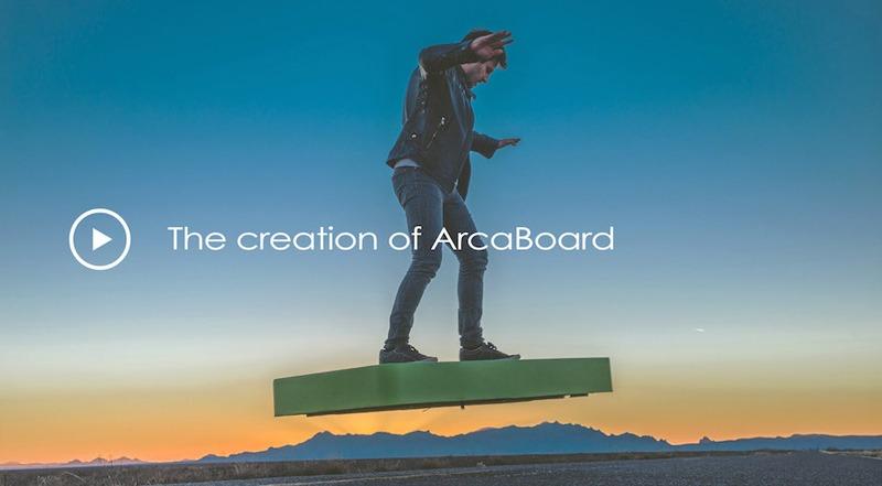 Ván trượt trên không Arcaboard cho phép đặt trước với giá 19.900 USD