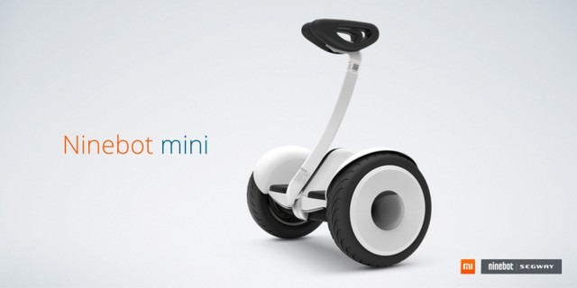 Xiaomi ra mắt xe điện tự cân bằng thông minh Ninebot mini
