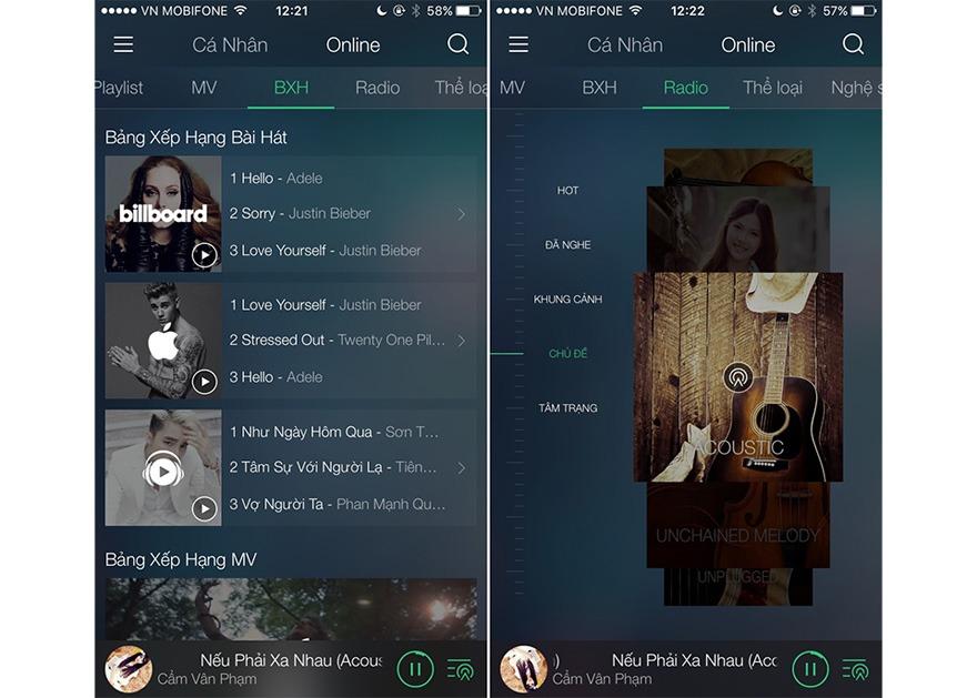 xmusic premium: apple music phien ban viet, nhac ban quyen