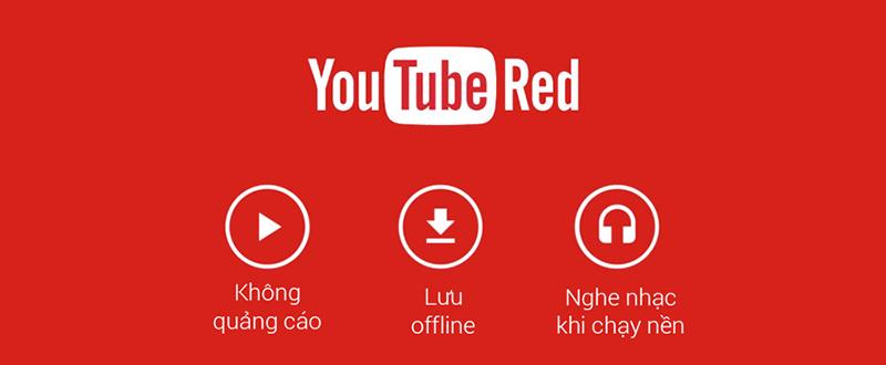 YouTube Red ra mắt: không quảng cáo, lưu video offline, chạy nền