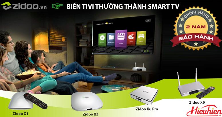 ZIDOO - Thương hiệu Android TV Box số 1 năm 2016