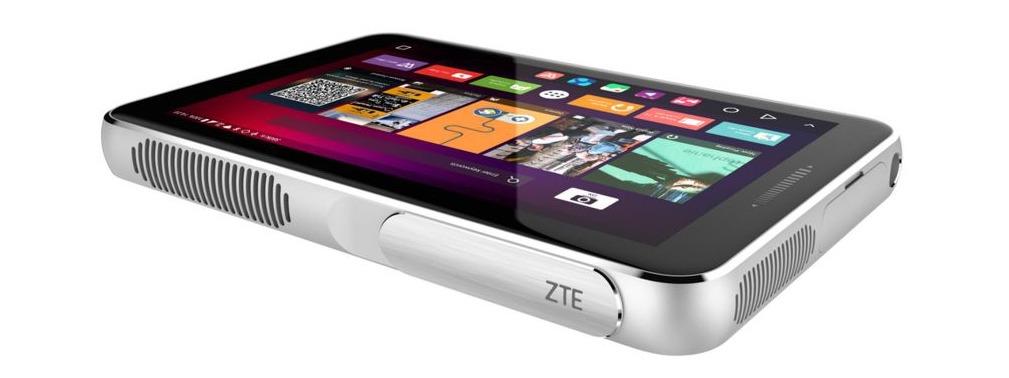 ZTE Spro Plus: máy chiếu thông minh kiêm máy tính bảng