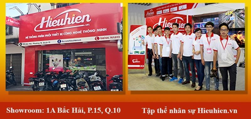 Đội ngũ nhân sự và cửa hàng Hieuhien.vn tại chi nhánh Quận 10