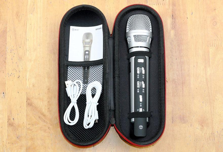 danh gia tuxun k9 micro karaoke bluetooth fm chuyen nghiep tren o to, xe hoi 02