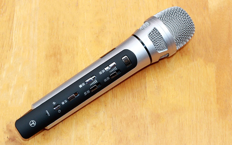 danh gia tuxun k9 micro karaoke bluetooth fm chuyen nghiep tren o to, xe hoi 11
