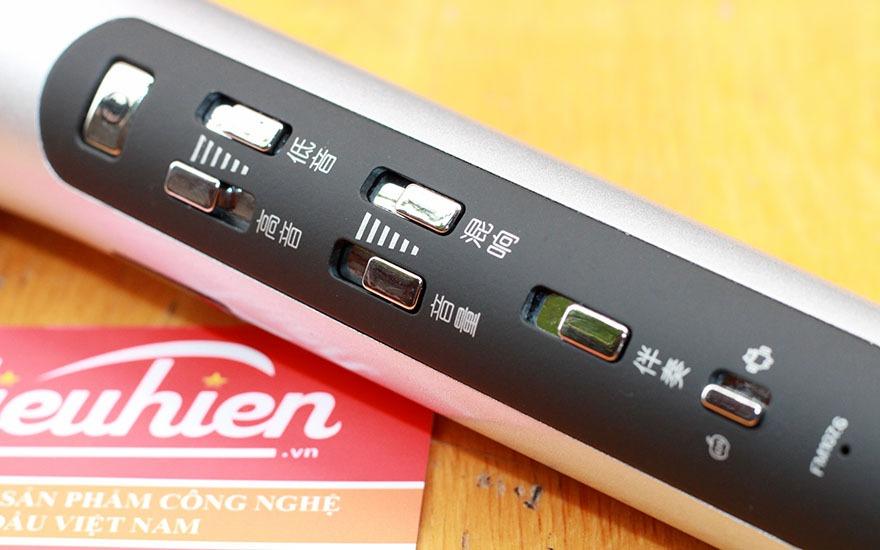 danh gia tuxun k9 micro karaoke bluetooth fm chuyen nghiep tren o to, xe hoi 08