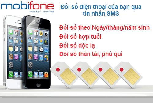 MobiFone cho phép đổi số điện thoại bằng tin nhắn không cần thay SIM