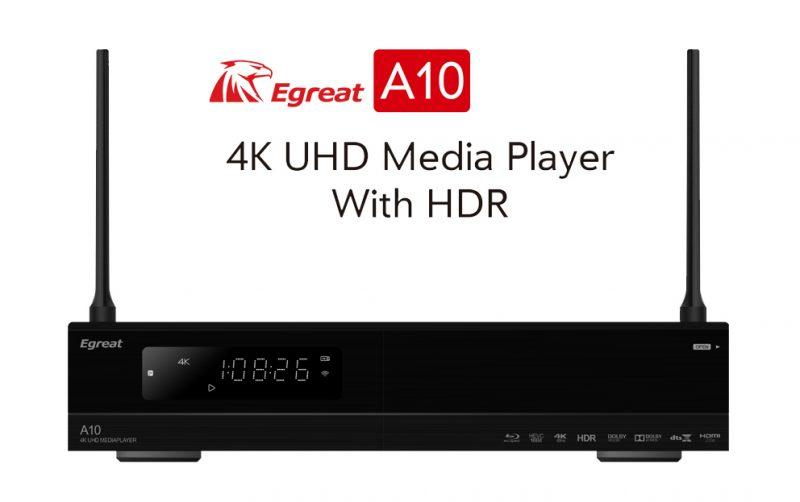 """Egreat A10 - """"đại bàng"""" bao phủ """"bầu trời"""" 4K HDPlayer và Android TV Box"""