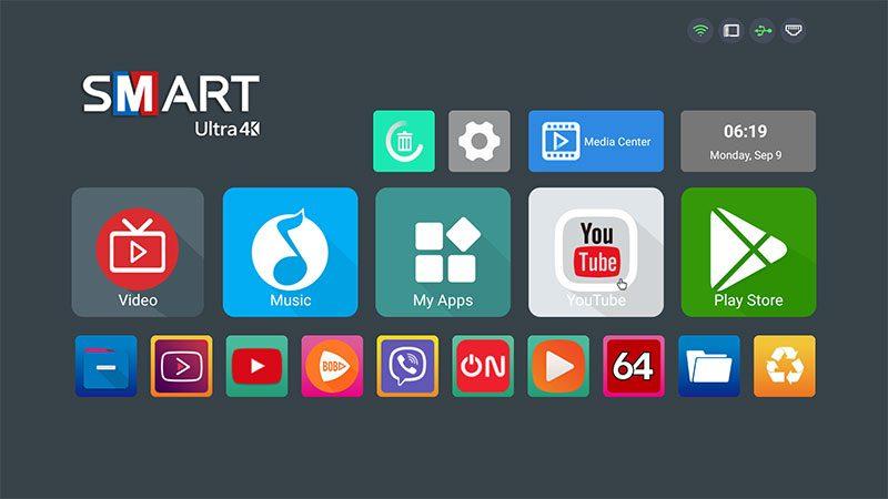 enybox x88 pro rk3318 cấu hình ram 2gb rom 16gb, chạy hệ điều hành android 9 - hình 14