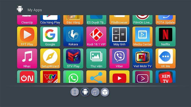 enybox x88 pro rk3318 cấu hình ram 2gb rom 16gb, chạy hệ điều hành android 9 - hình 15