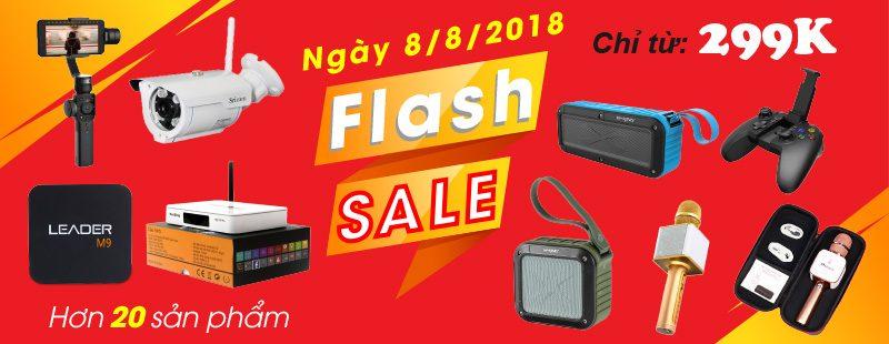 Flash Sale 08.08.2018 - Siêu khuyến mãi 1 ngày duy nhất tại Hieuhien.vn