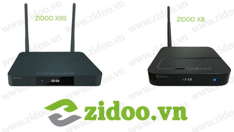 Giới thiệu bộ đôi siêu phẩm Android Box Zidoo X9S và Zidoo X8 sắp ra mắt