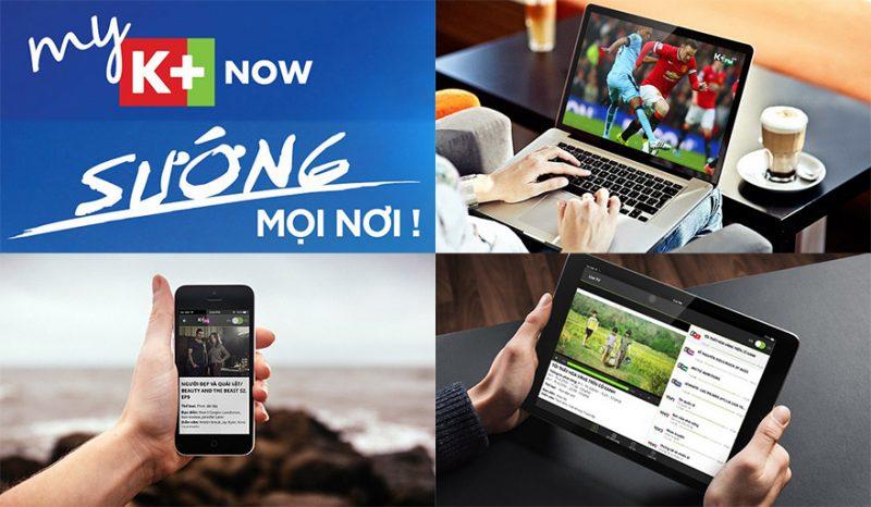 Giới thiệu myK+ NOW - gói kênh truyền hình trực tuyến của K+