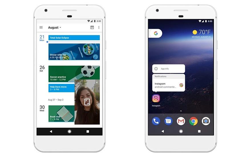 google chinh thuc ra mat android 8.0 oreo voi nhieu tinh nang moi